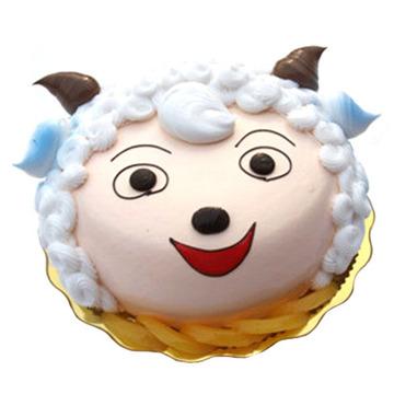 微笑小羊 10寸