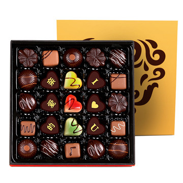 巴黎恋人巧克力