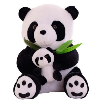 熊猫吃竹 50cm