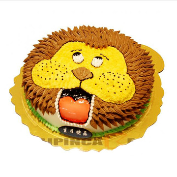 威武狮子 10寸