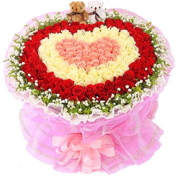 久久爱 (粉玫瑰、白玫瑰、红玫瑰 爱情 友情 生日 朋友 七夕 情人 圣诞)