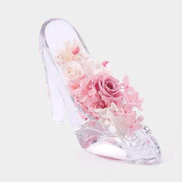 公主的水晶鞋 粉红色