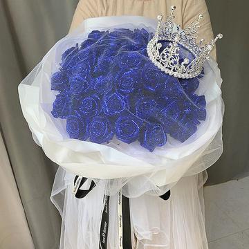 蓝色妖姬王冠