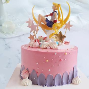 美少女战士网红蛋糕 10寸