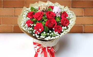 长葛市平价花店推荐-许昌长葛市卖花的平台-长葛市生日送什么花?